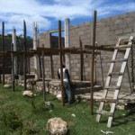 Clinic Progress – Getting ready for the roof